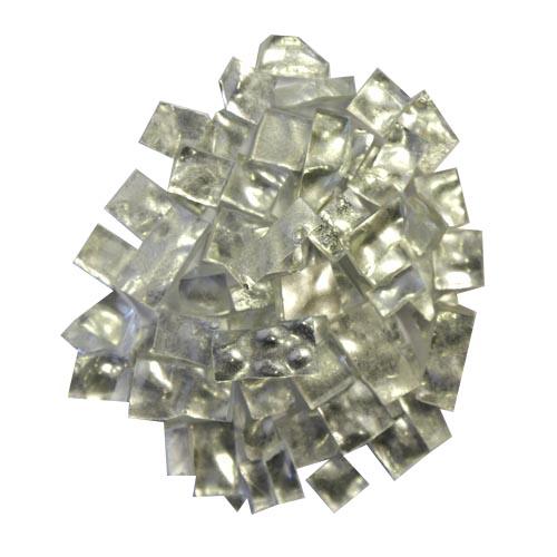 Silver Smalti G0011 wavy offcuts