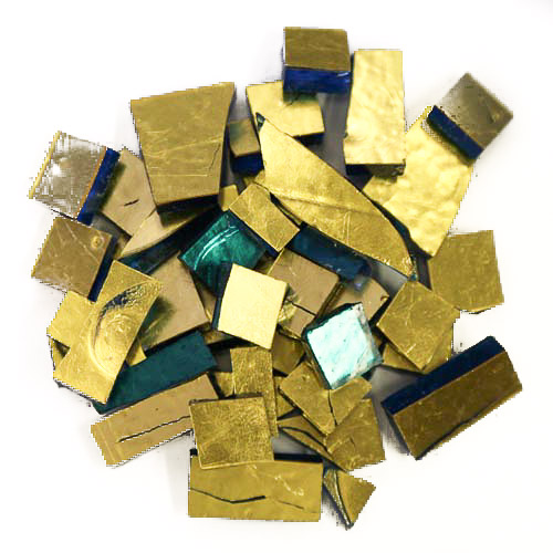 Gold Smalti G0100 offcuts