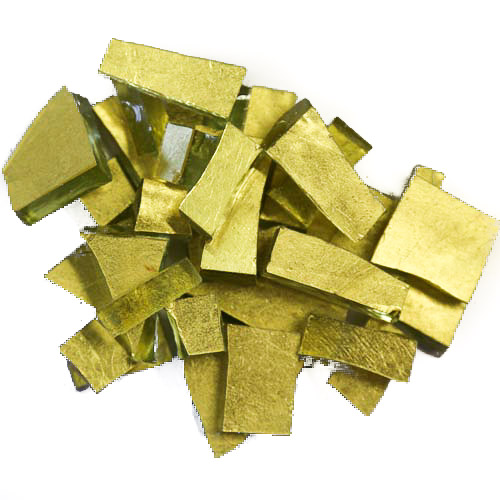 Gold Smalti G0200 antique gold offcuts