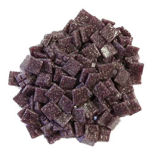 1cm Purple Vitreous Glass Tiles