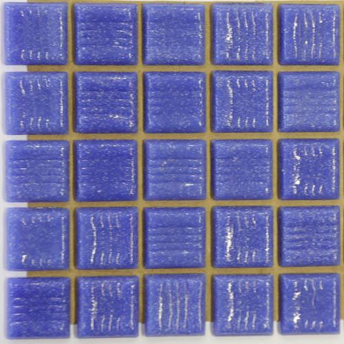 B62 - Mid blue 2cm x 2cm vitreous glass tiles