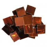 Cinnamon Mirror Tiles 2cm x 2cm x 3mm hand cut