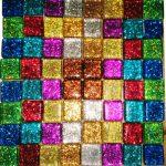 glitter coaster kit