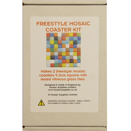 Multi Colour Freestyle Mosaic Coaster Kits
