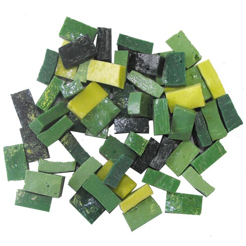 Green Smalti Mix