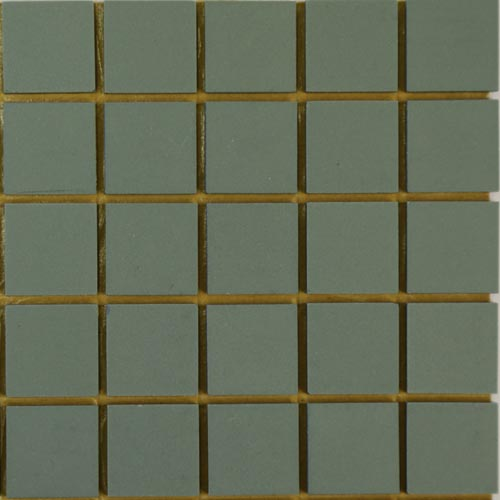 Mid Green Winckelman unglazed ceramic tiles