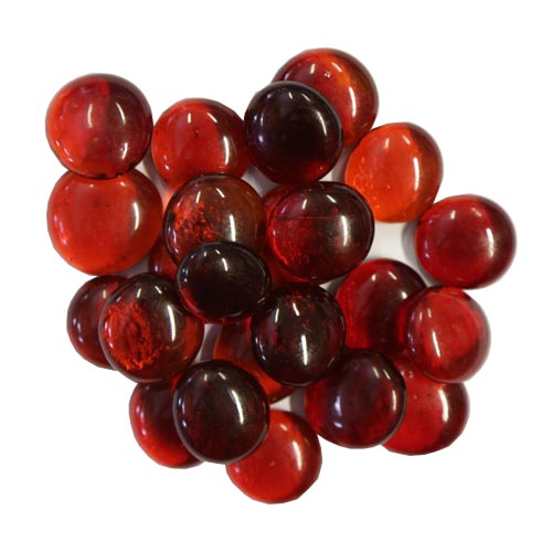 Red Glass Nuggets