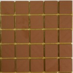 Red Winckelman unglazed ceramic tiles