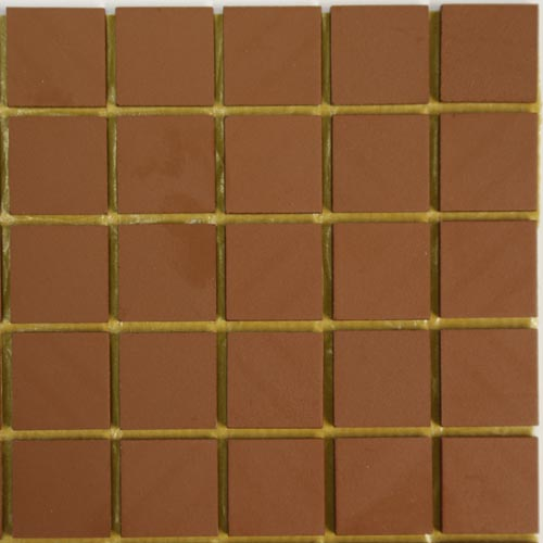 Red Winckelman unglazed ceramic tiles