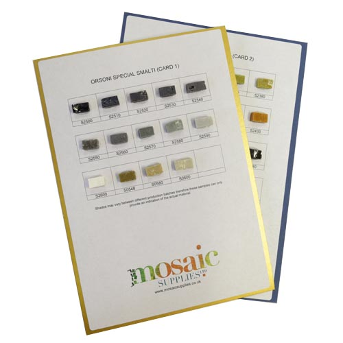Special Smalti Sample Cards