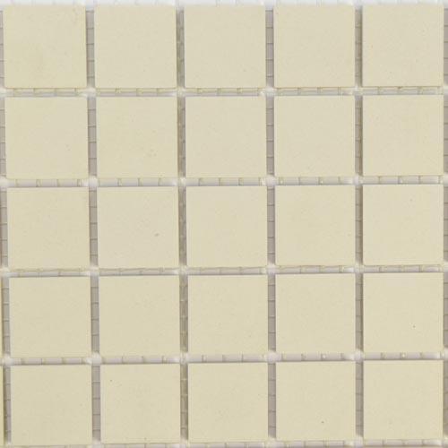 Super white unglazed ceramic mosaic tiles