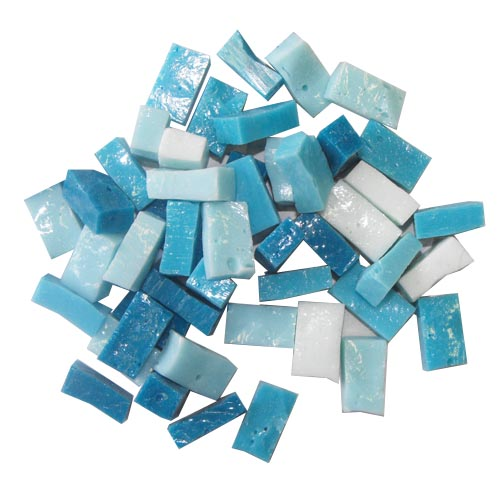Turquoise Smalti Mix
