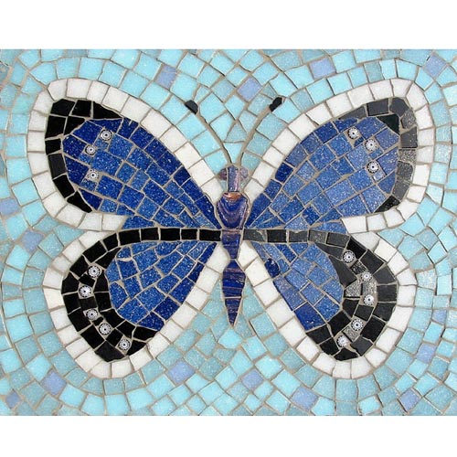 Adonis Butterfly mosaic kit