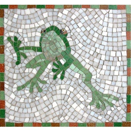 Frog mosaic kit