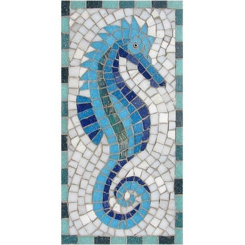 Seahorse mosaic kit