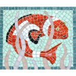Clown Fish mosaic kit