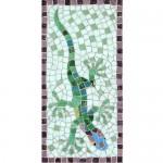 Gecko mosaic kit