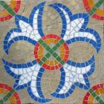 Ravenna geometric square mosaic kit