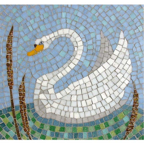 Swan mosaic kit