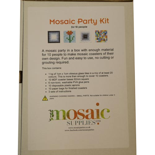 Mosaic Party Kit