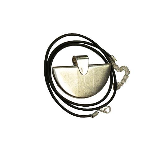 half round pendant