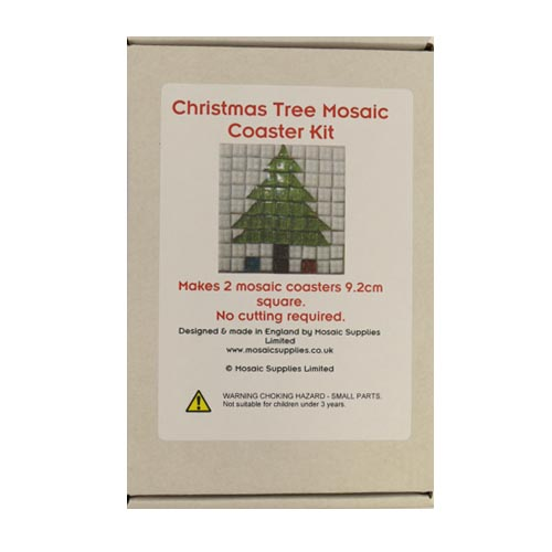 Christmas Tree Mosaic Coaster Kit