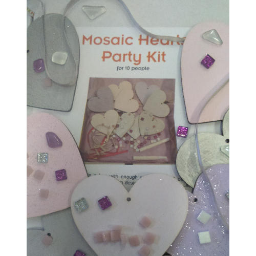 mosaic party kit