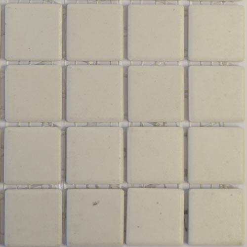 Chalk white Mazurka tiles