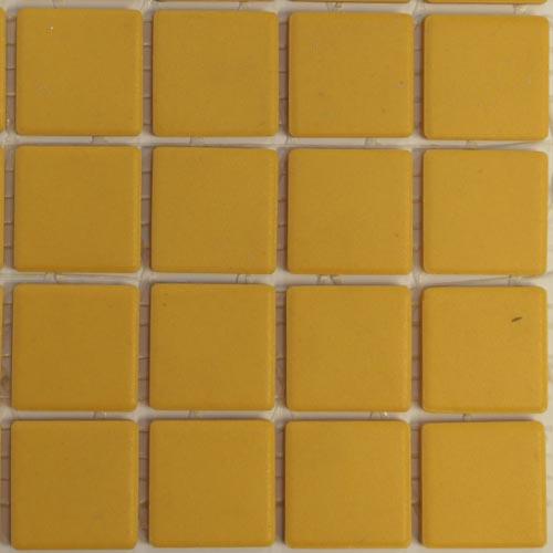 nugget yellow unglazed mazurka