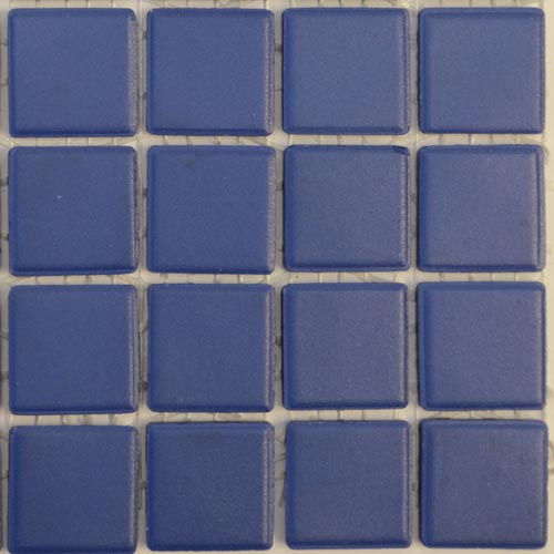 sapphire royal blue mazurka unglazed porcelain tiles