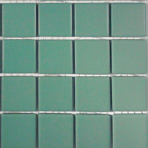 emerald green unglazed porcelain tiles