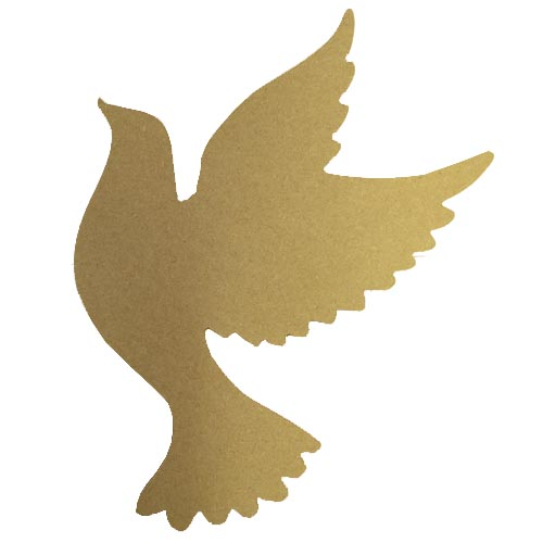 MDF dove