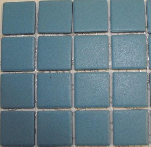 mazurka turquoise unglazed porcelain tiles