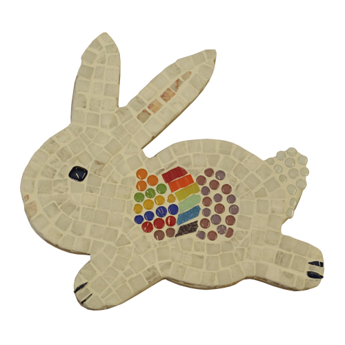 rabbit mosaic kit