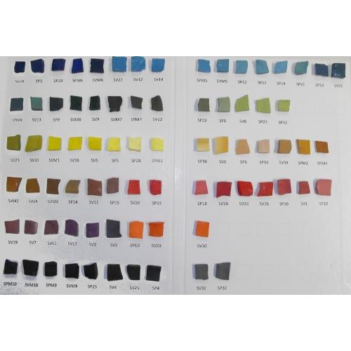 litovi sample card
