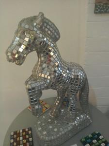 mirror horse