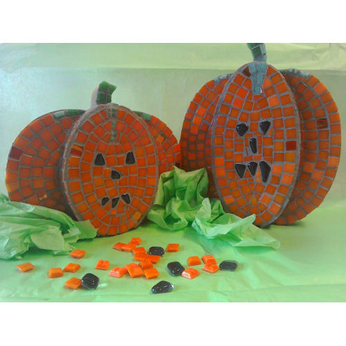 pumpkin mosaic kit