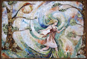 Angelica corre verso la gioia