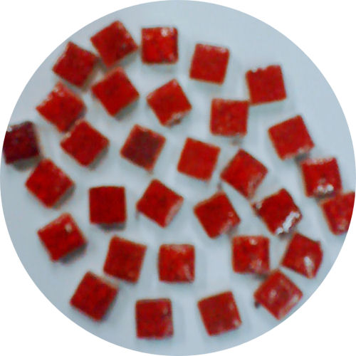 red micro tiles