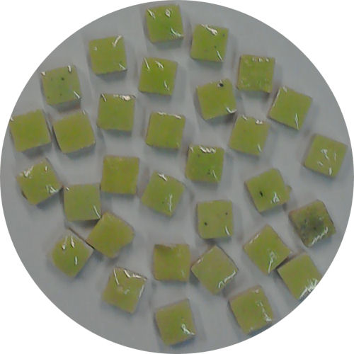 light yellow green micro tiles