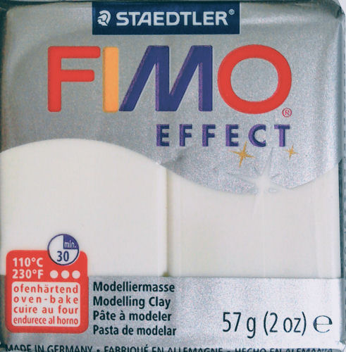 Fimo Effect mother of pearl modelling clay