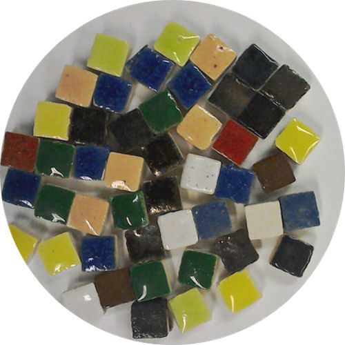 mixed 5mm glazed micro tiles