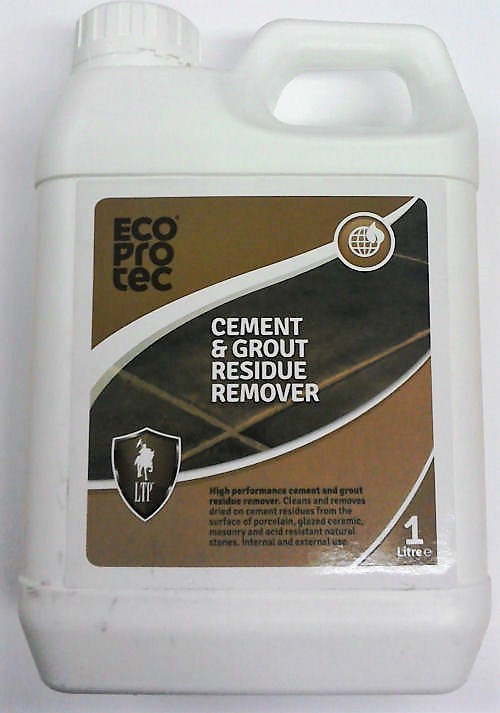 1 litre bottle cement and grout residue remover