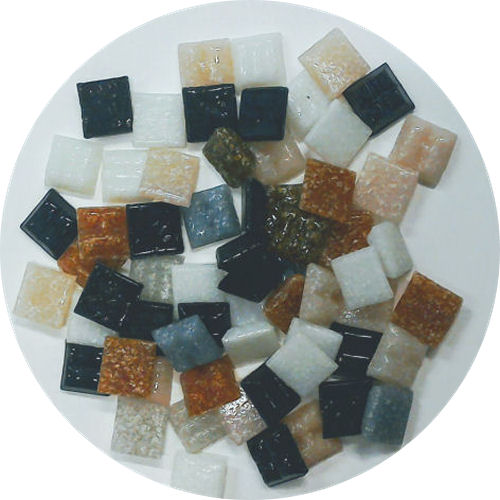 1cm vitrous glass tile mix