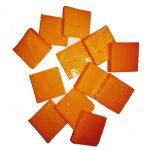 Orange 2cm piastrina