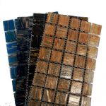 Gold Vein 2cm Glass Tiles
