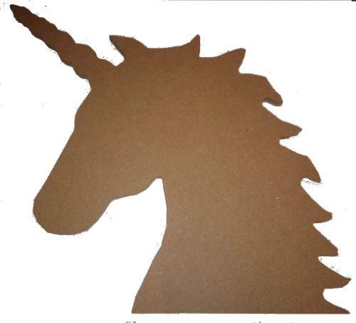 MDF Unicorn Head