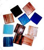 gold vein mosaic tile loose mix