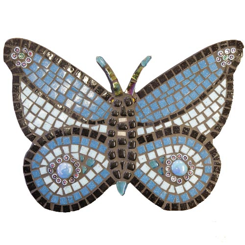 Butterfly mosaic kit