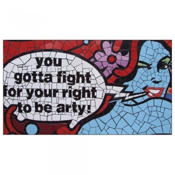 Carrie Reichardt you've got to fight for your right to be arty